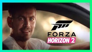 ★ Paul Walker Tribute - Forza Horizon 2 ( Furious 7 Ending )