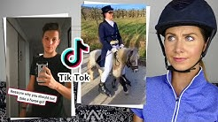 EQUESTRIAN REACTS TO 'FUNNY' HORSE TIKTOKS!