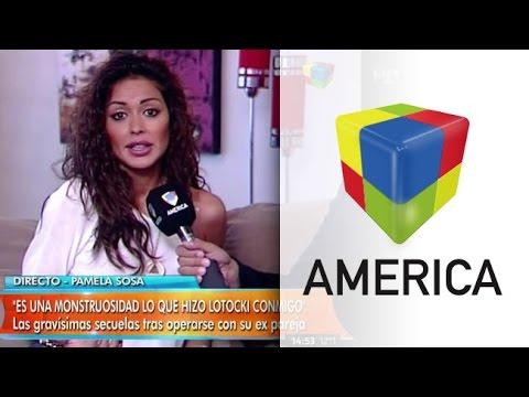 Pamela Sosa mostró los granulomas en vivo y atacó a Aníbal Lotocki