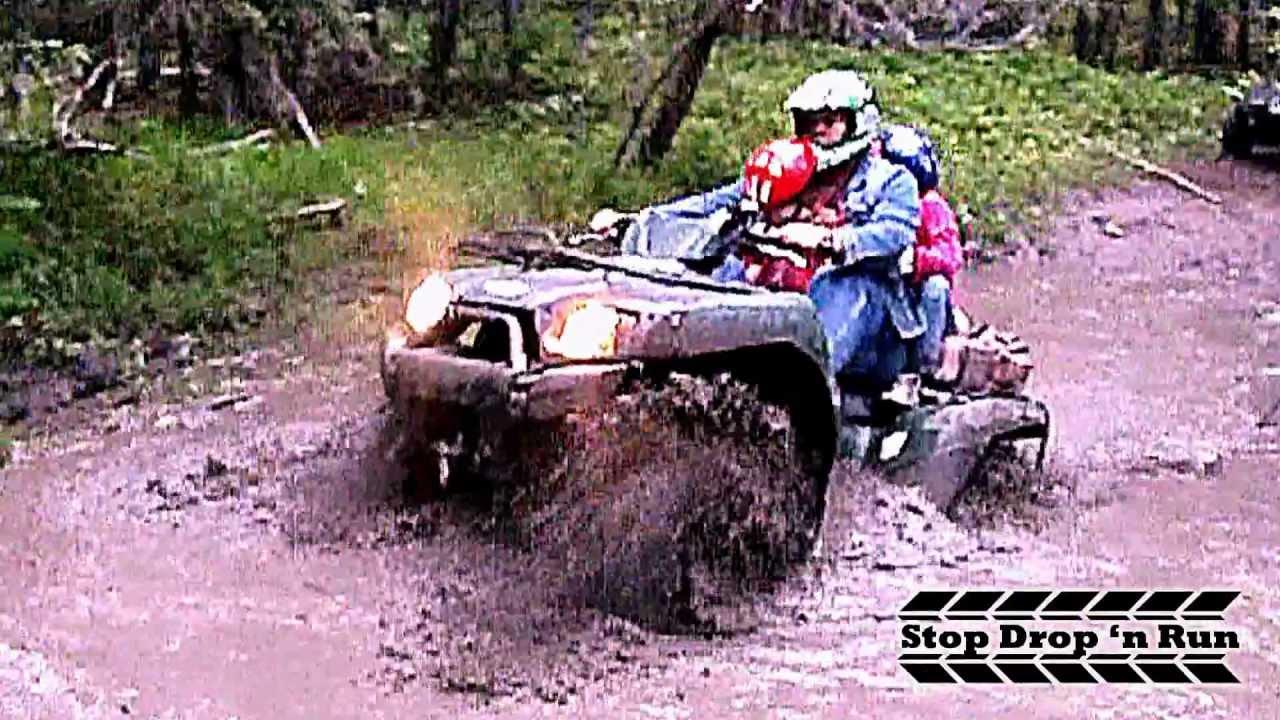 Atv 4x4 Mudding Kawasaki Brute Force 750 And 650 Quads Youtube