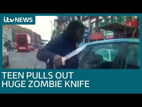 Teenager who tried to attack driver with zombie knife avoids jail | ITV News