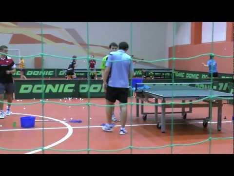 Настольный теннис. Сборная России. УТС в Бронницах
