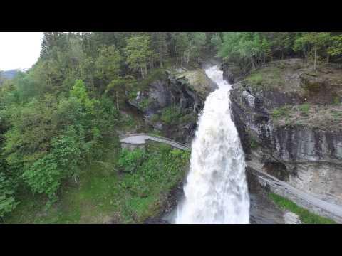 DJI Phantom 4K at Hardanger in Norway