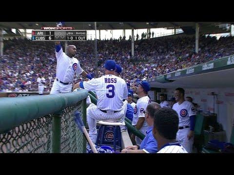 ARI@CHC: Herrera takes an unrequested curtain call