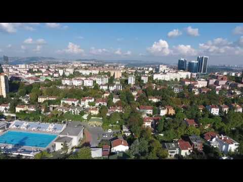 İstanbul Levent, Turkey Drone footage... Captured by DJI Phantom 4. ..
