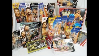 TONS OF NEW WWE ACTION FIGURES + PLAYSET & MUCH MORE!