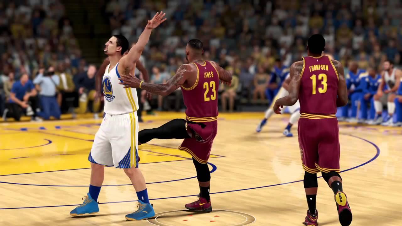 NBA 2K16-New jumpshot animation for LeBron James - YouTube