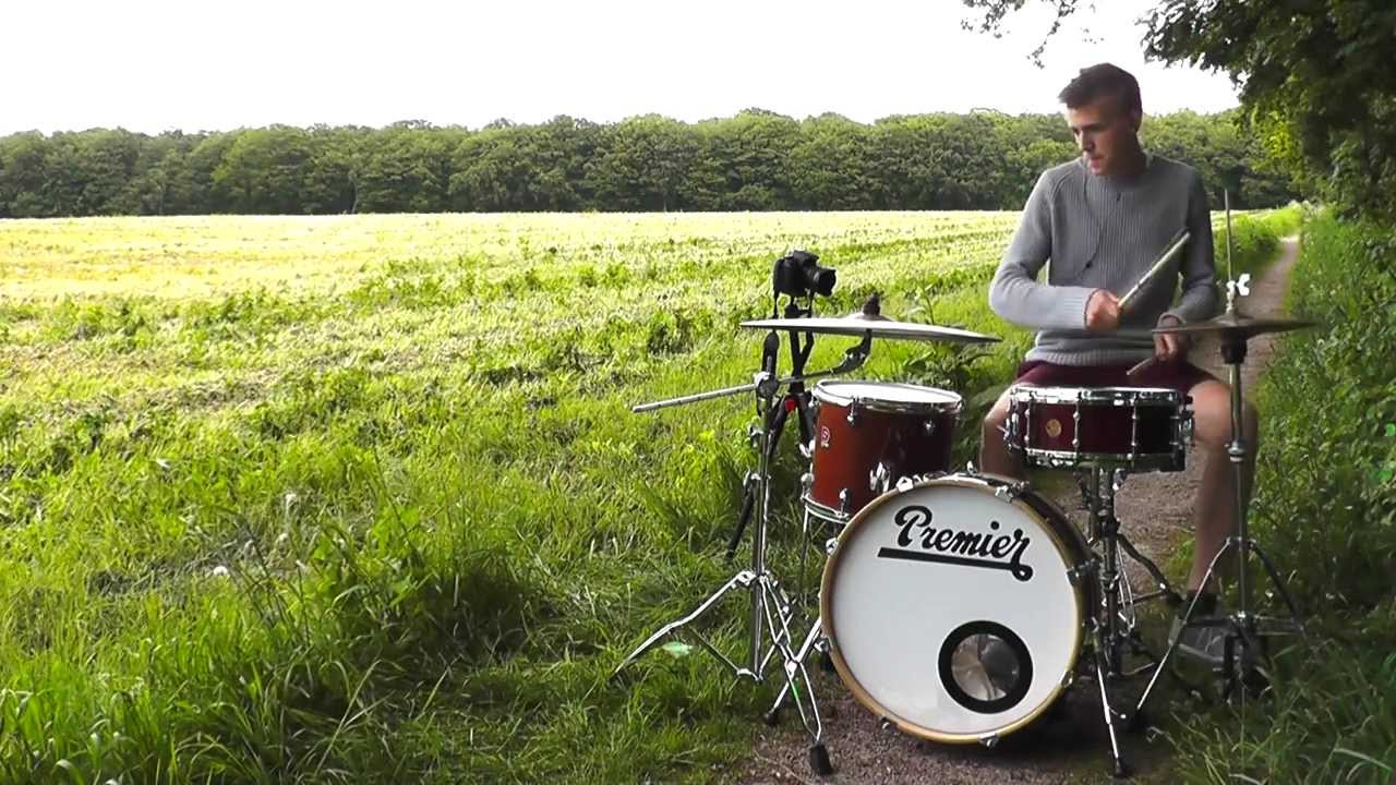 Different Way Set Good Sized Drum Sets Two