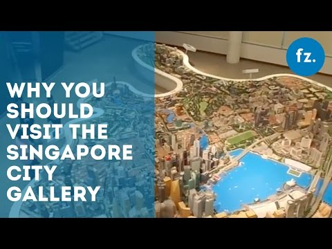 Why You Should Visit The Singapore City Gallery | The Skoop