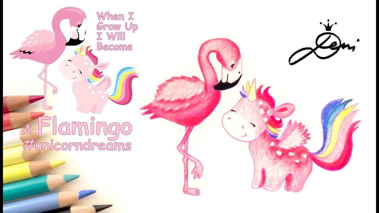Wie Zeichnet Man Ein Flamingo Vogel Malen