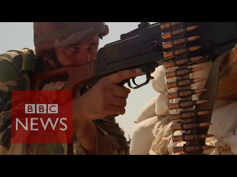 Syria: 'Army at war with Islamic State' - BBC News