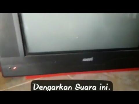 Cara Memperbaiki Tv Akari 21 Fbt Shor Ada Suara Denging Dari Dalam Youtube
