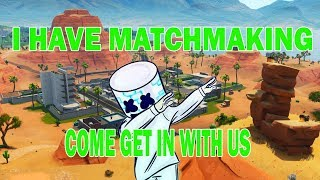 FORTNITE CUSTOM MATCHMAKING GAMES // COME JOIN IN SOME SCRIMS