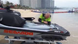 тюнинг гидроцикла brp rxt 300 orca 2018