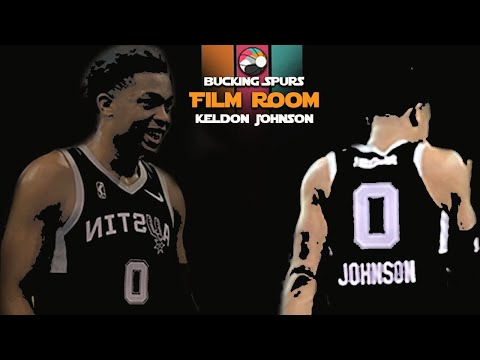 Keldon Johnson - Film Room