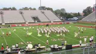 Carolina Crown 2012 in HD - 6/28/12 Rehearsal (Muncie, IN - Ball State University)