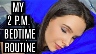 MY 2 P.M. BEDTIME ROUTINE (my life is weird)