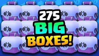 275 BIG BRAWL BOX OPENING! WE FINALLY UNLOCKED HIM!! | Brawl Stars | BEST BIG BOX OPENING!