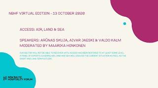 ACCESS: Air, Land & Sea with Arūnas Skuja, Aivar Jaeski and Valdo Kalm