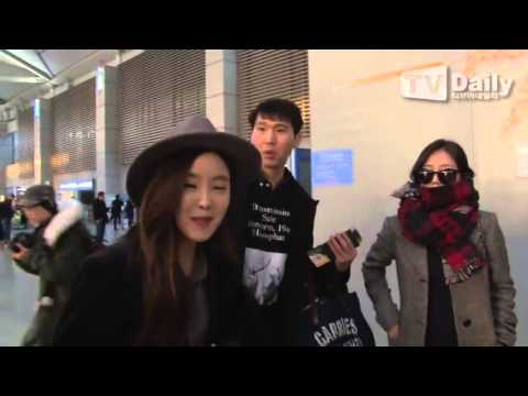151204 T-ARA(티아라) Going To China Nanjing @ Incheon Airport