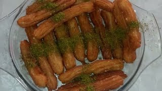 طريقة عمل داطلي أو بلح الشام لذيذ ومقرمش