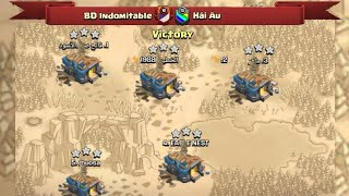 Victory BD Indomitable And Showed Some Our Great Attack's   Fair Play Clan War  Clash Of Clans