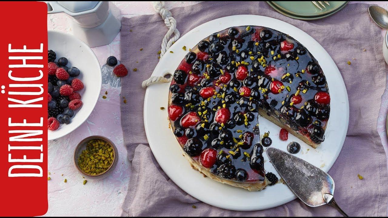 Obsttorte mit Beeren | REWE Deine Küche