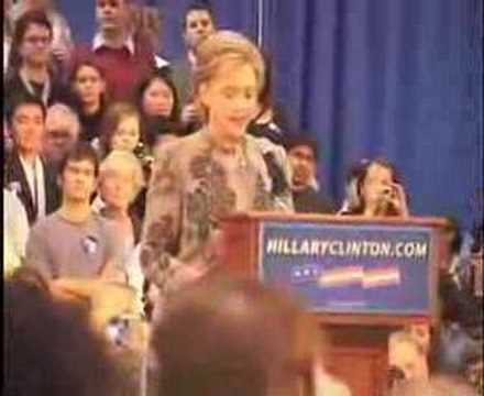 Clinton: Full New Hampshire Primary '08 Victory Speech,Part2