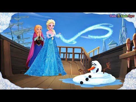 Frozen Eiskönigin deutsch ❄️ Film als Buch App für Kinder