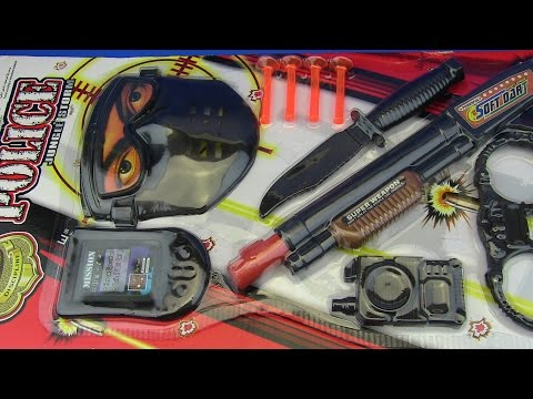 Thumbnail: Guns for Kids S.W.A.T. !!!Toy Gun Police set Video for kids - Toys for kids !