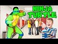 WEARING EMBARRASSING NINJA TURTLE COSTUME TO SCHOOL!