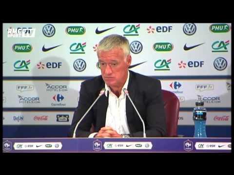 Équipe de France / Deschamps évoque le cas Franck Ribéry 28/08