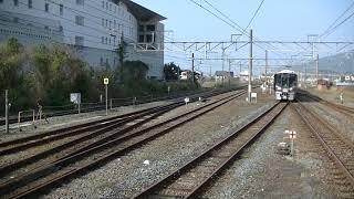 227系1000番台・普通(4両編成) 御坊駅