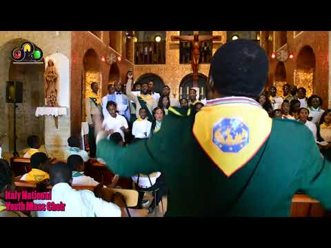 Italy National Youth Mass Choir singing Owenfo composed by Ellen White