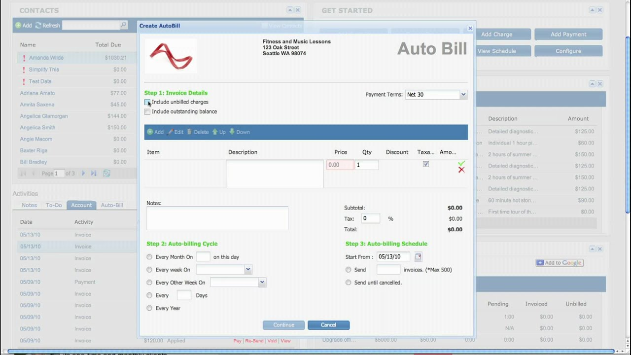 Overview Of Online Invoicing Time Tracking And Payments Using - Online invoice tracking