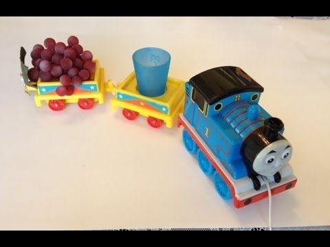 Thomas And Friends Big Tomy Train With Cool Cart By