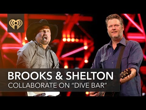 """blake-shelton-&-garth-brooks-collaborate-on-new-song-""""dive-bar""""-
