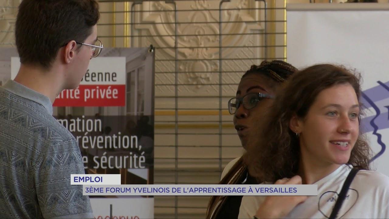 Emploi : 3ème Forum Yvelinois de l'apprentissage à Versailles