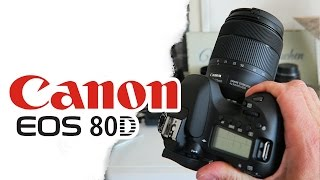 CANON EOS 80D Unboxing und erster Video Test / 18-135mm Nano USM / Deutsch German