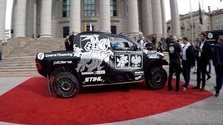 DAKAR Rally 2019: Benediktas Vanagas car presentation - Toyota Gazoo Racing Hilux
