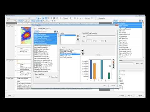 Business Analyst 9.3.1: Custom report enhancements