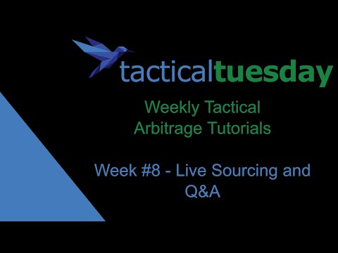 Tactical Arbitrage Live Sourcing + Your Questions - Tactical Tuesday (2019)