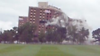 Gage Towers Implosion- Minnesota State University, Mankato