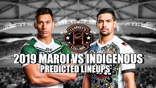 2019 NRL All Stars Predicted Lineups - Indigenous & Maori