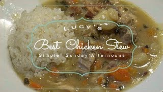 How to Make Chicken Stew with White Sauce Recipe Episode 246