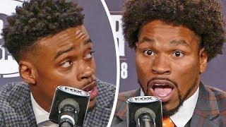 TRASH TALK! Errol Spence Jr vs. Shawn Porter HIGHLIGHTS / PRESS CONFERENCE