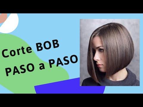 Corte de pelo al estilo bob