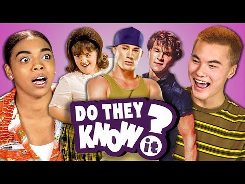 DO TEENS KNOW DANCE MOVIES? (REACT: Do They Know It?)
