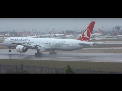 ✈ Istanbul Ataturk Airport Landing Runway 35L - HD