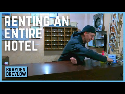 Renting an ENTIRE HOTEL just for fun